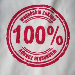 Torba 100% wegańskie zakupy (fot. erVegan)