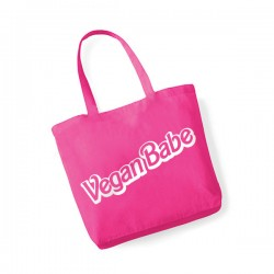 Vegan Babe - bawełniana torba