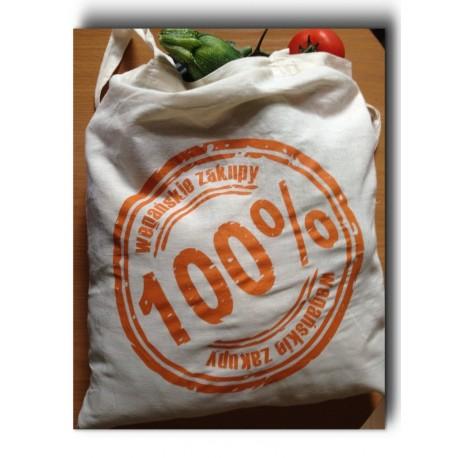 Torba 100% wegańskie zakupy