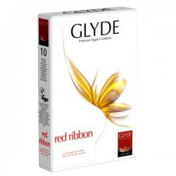 prezerwatywy Glyde Red Ribbon, 10 szt.