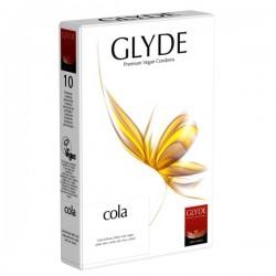 prezerwatywy Glyde Cola, 10 szt.