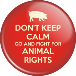Przypinka Animal Rights