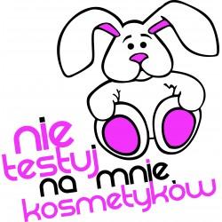 Koszulka królik przeciw testom