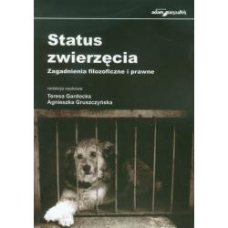Status zwierzęcia. Zagadnienia filozoficzne i prawne